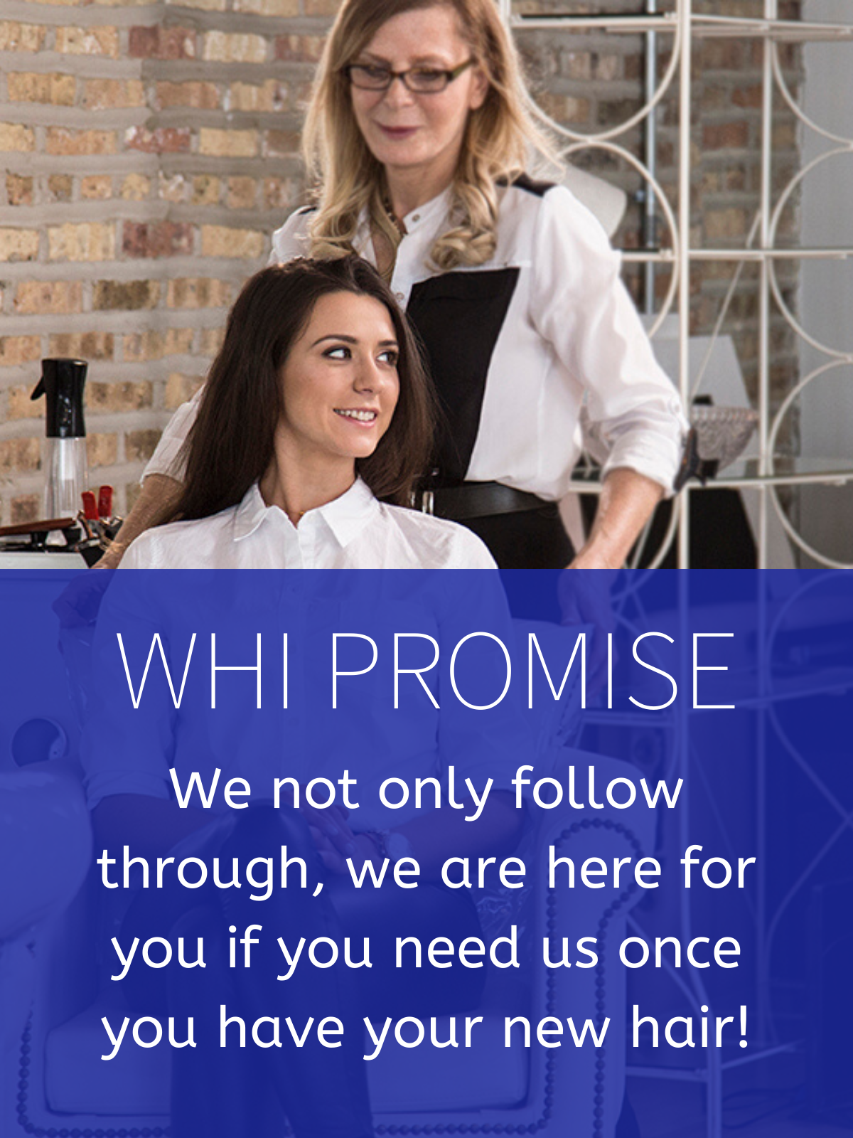 World Hair Institute Customer Promise